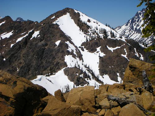 Teanaway from Iron Peak
