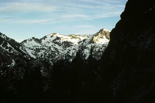 South Ingalls Peak from the Cascadian Couloir