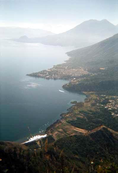 View from Cerro Cristalino on...