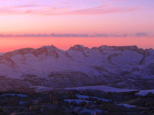 Sunset from Whitney