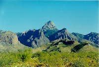 Baboquivari Peak from the...