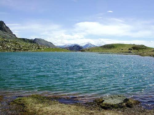 il lago Raty mt. 2283