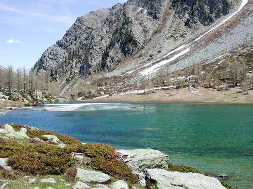il lago d'Arpy mt. 2066