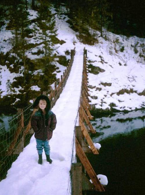 St. Joe River footbridge