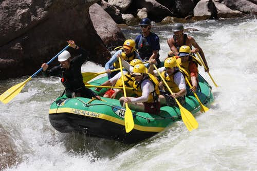 Royal Gorge Rafting - Colorado