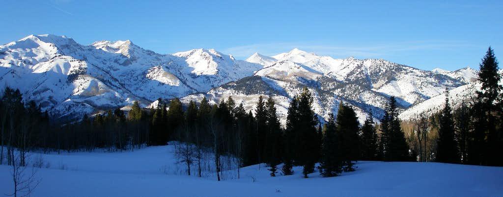 Little Cottonwood Ridge