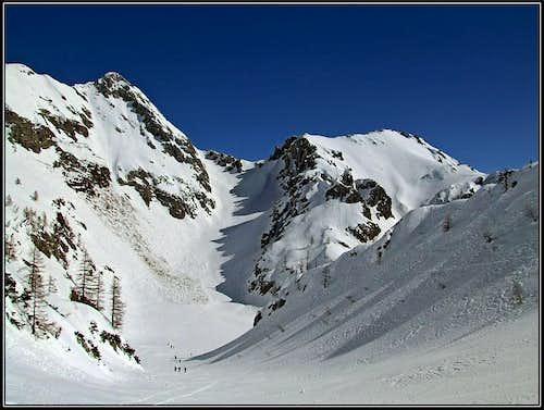 Veliki Draski vrh ascent