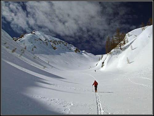 Veliki Draški vrh ascent