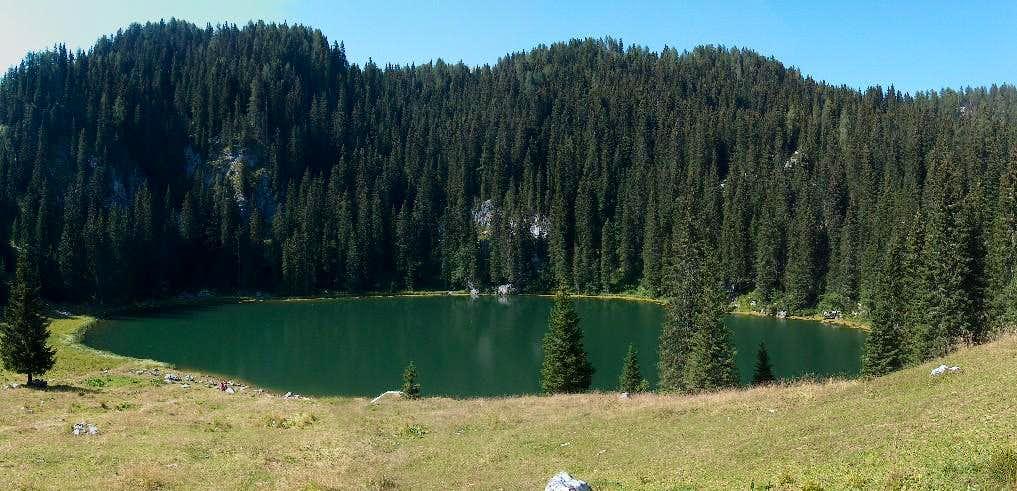 Jezero na planini pri Jezeru, the