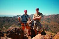 Jason and I at the summit...