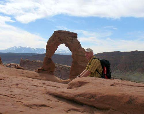 Most popular hike in Utah - Delicate Arch