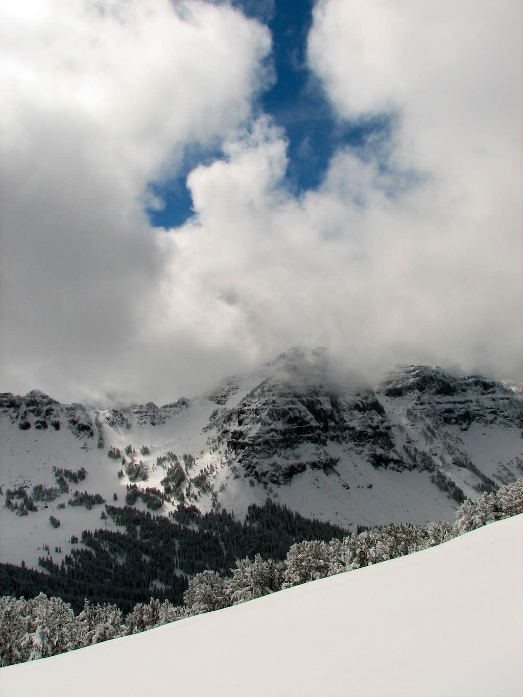 Alex Lowe Peak in the Clouds