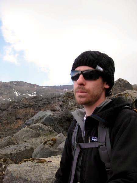 Day 1: jesse on acclimation hike