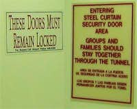 lax door reassurances