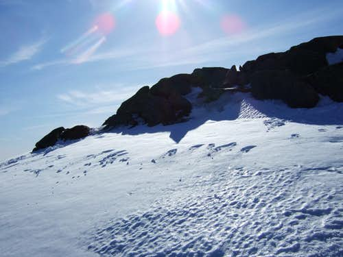Snowfields of Moosilauke