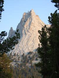 Cathedral Peak from Budd Lake