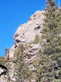 Outcrop along Threemile Creek