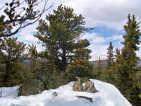 Summit of Spearhead Mountain
