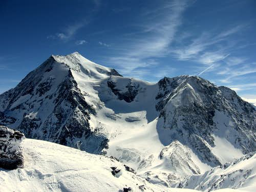 NORTH Face of Pourri (3779m)