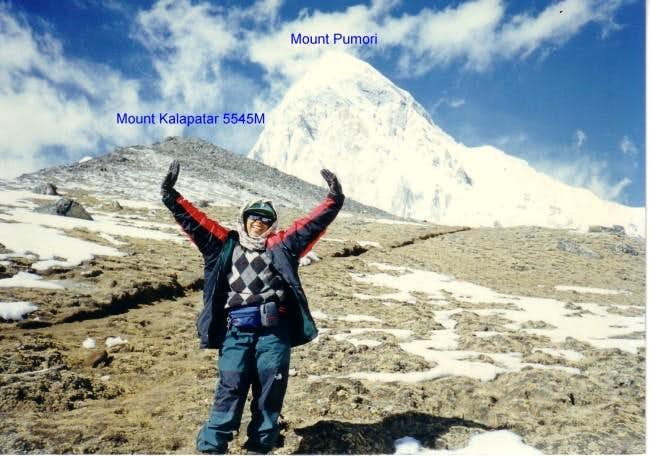 Mount Kalapatar and Mount...