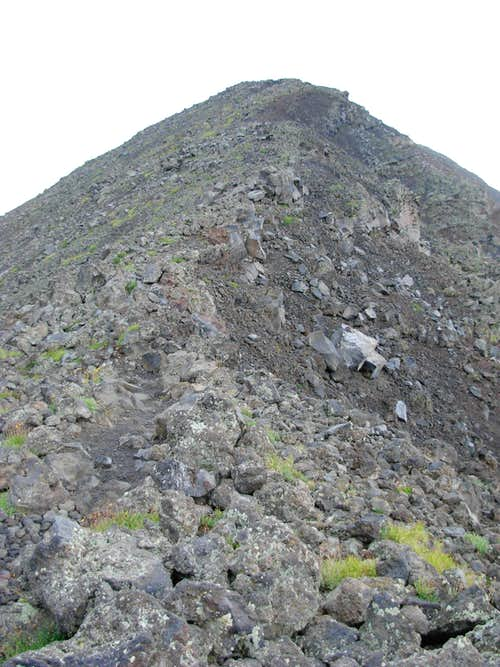 False Summit On Humphreys Peak