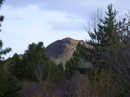 Cross Peak from near the start of the trail