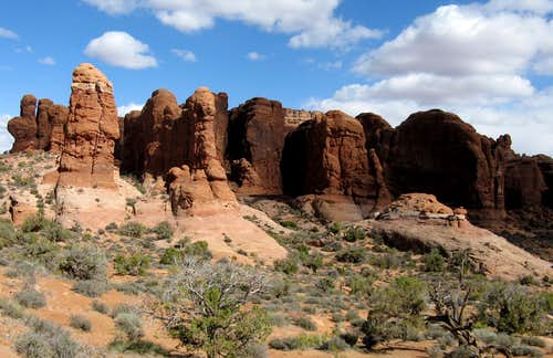 Arches National Park highpoint Elephant Butte