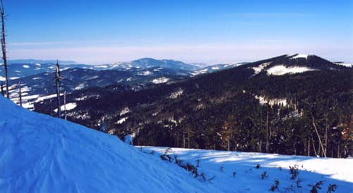 Beskid Slaski in winter