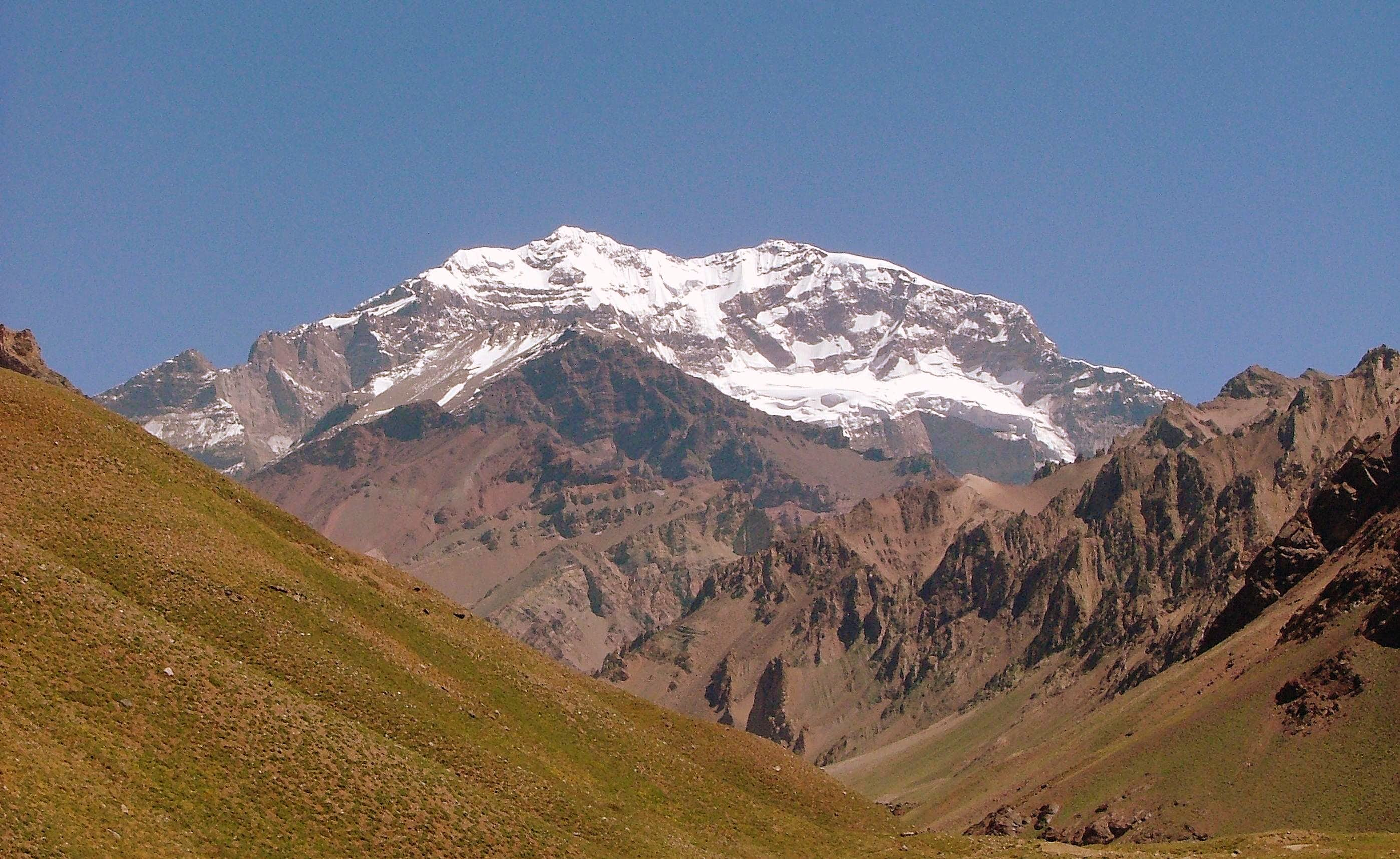 Aconcagua in and out.