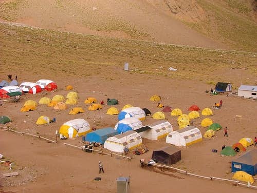 Confluencia Camp Site.