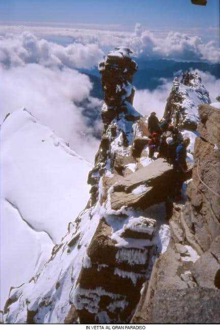 Gran Paradiso summit
