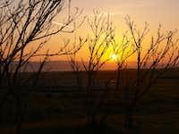 Sunrise at KCL Camp