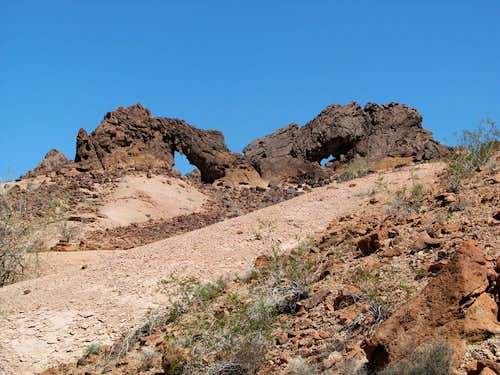 Indian Pass Arches