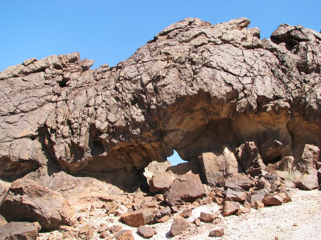 3rd Indian Pass Arch