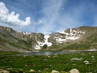 Summit Lake on July 20, 2008.