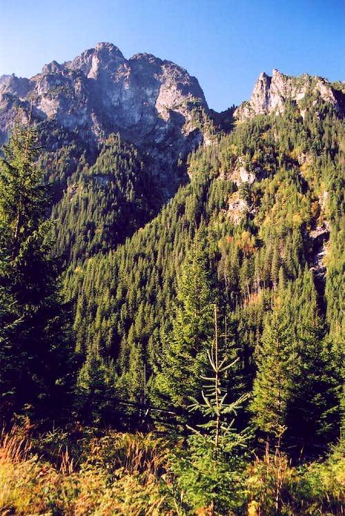 Mlynar above Bielovodska valley