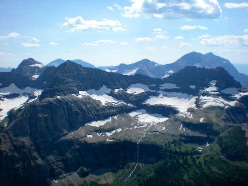 Thunderbird and Thunderbird Glacier