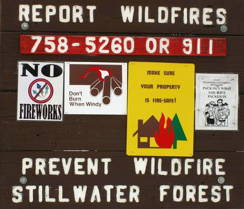 Report Wildfires