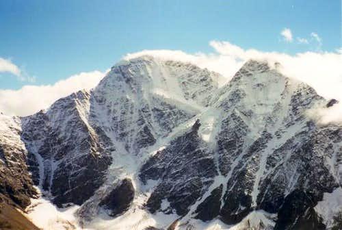 Donguzoran from Cheget Peak