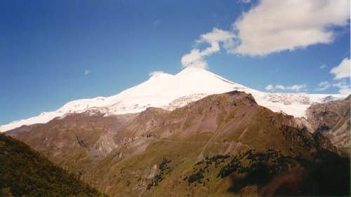 View of Elbrus from Cheget Peak