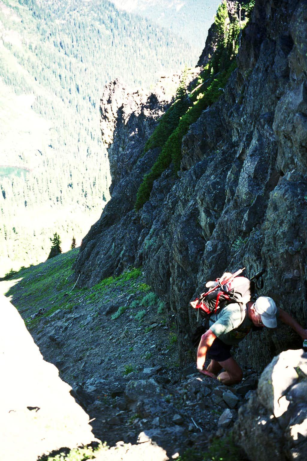 Climbing to the Saddle