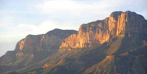 Guadalupe Peak and El Capitan...