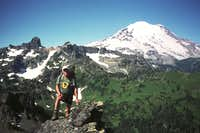 Rainier from the summit of Governors Ridge