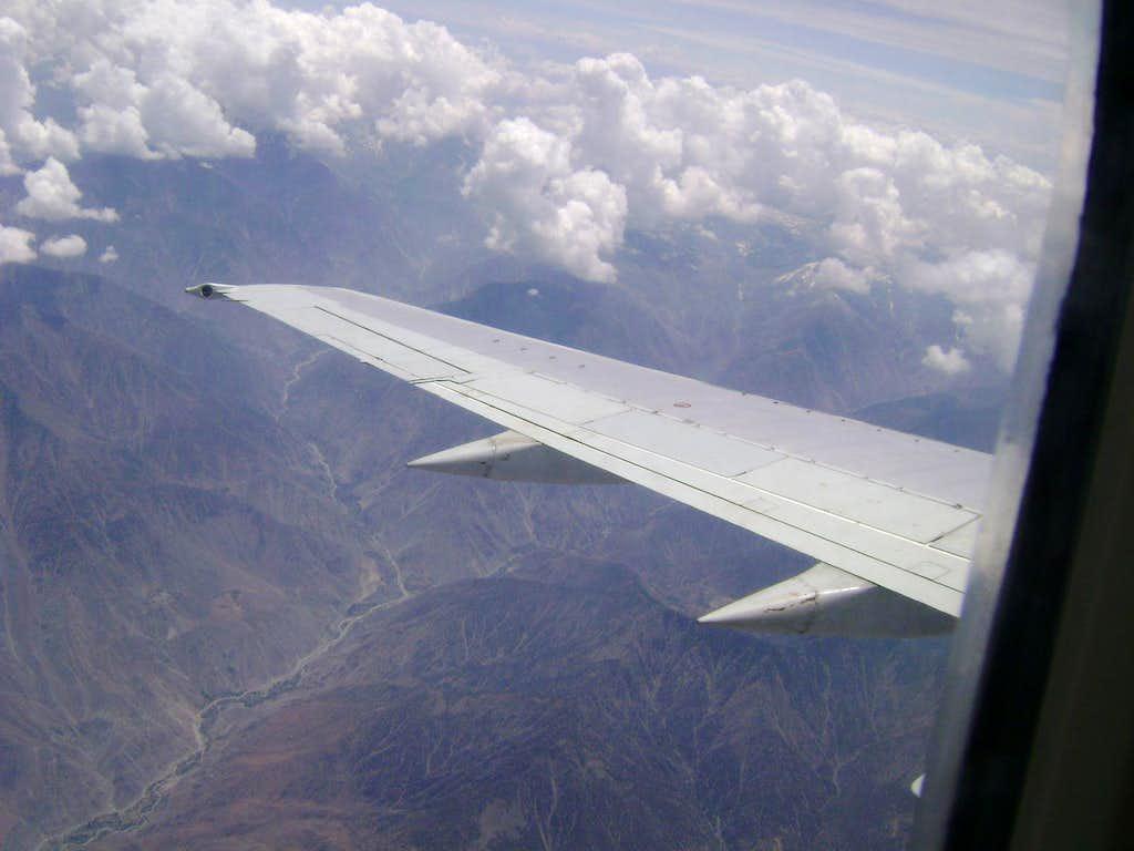 Flight to Skardu