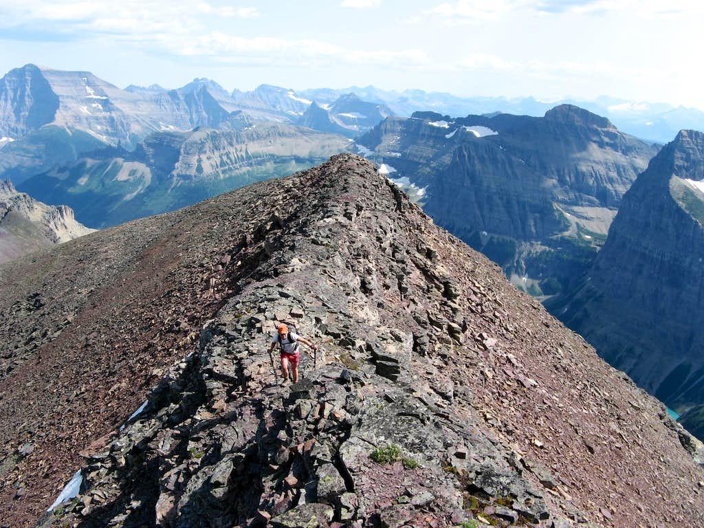 Chapman's Summit Ridge, with Cleveland