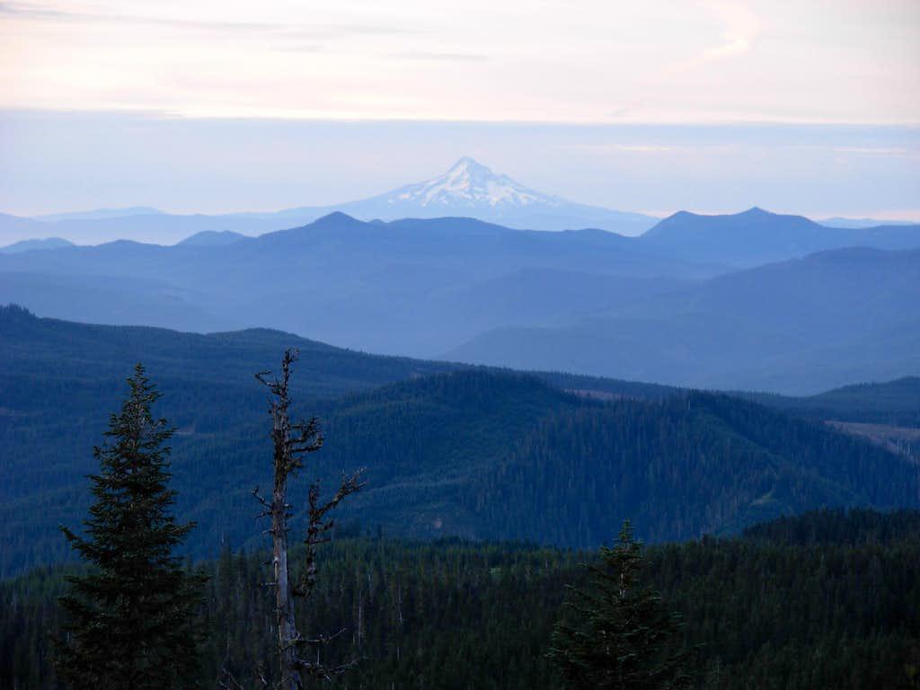 Mount Hood, At Sunrise