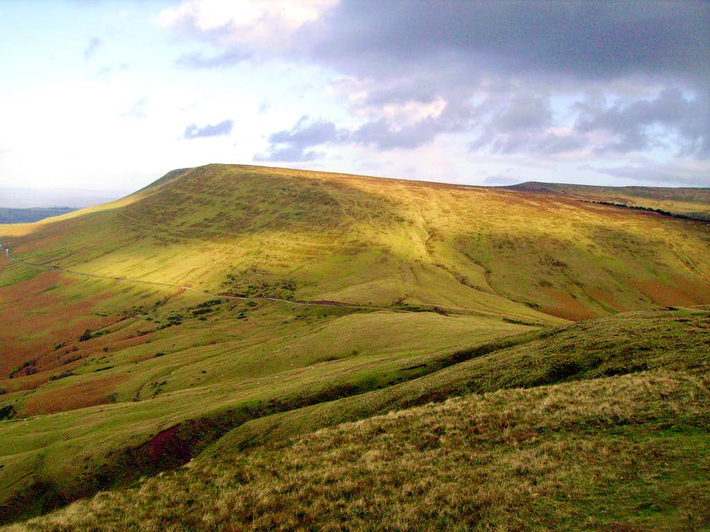 The Black Mountains - Hay Bluff and Black Mountain