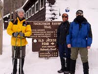tuckerman trailhead
