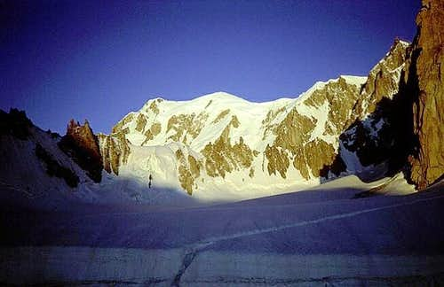 Mont Blanc Summit and West...