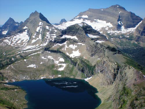 Pocket Lake and Numa Ridge